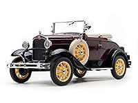 サンスター 1/18 フォード モデルA ロードスター 1931 マルーン