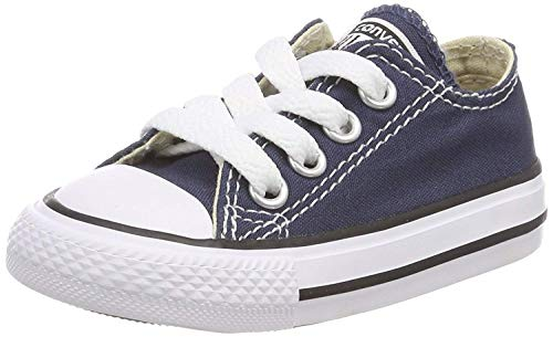 Converse All Star OX 7J237 - Zapatillas de tela para Niños, Azul (Marine), 20 EU