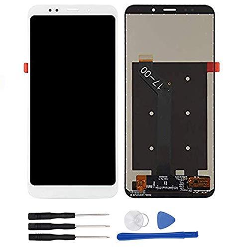 soliocial Asamblea Pantalla LCD Pantalla Táctil Vidrio para Xiaomi Redmi 5 Plus 5.99'' Blanco