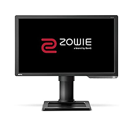 "BenQ ZOWIE XL2411P - Monitor Gaming de 24"" FullHD (1920x1080, 1ms, 144Hz, HDMI, Black eQualizer, Color Vibrance, Altura Ajustable, No soporta 120Hz en consola ) - Gris Oscuro"