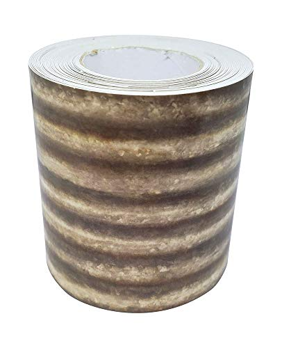 Corrugated Metal Straight Rolled Border Trim