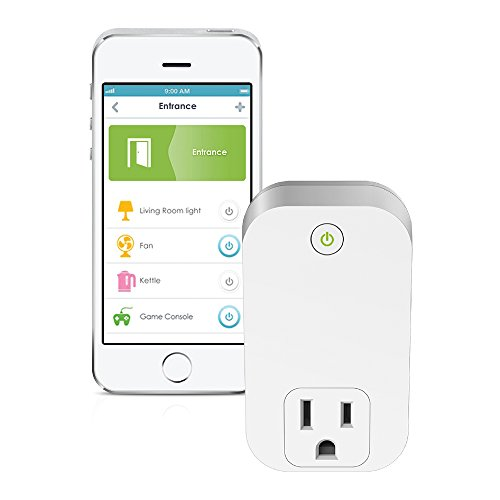D-Link Wi-Fi Smart Plug In Wall, Home Control From Anywhere with mydlink App, Works with Alexa  (DSP-W110)