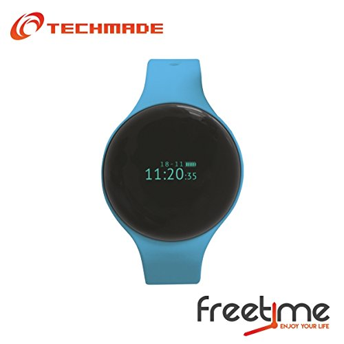 TECHMADE VD-TM-Freetime-BL Bracciale Fitness, Blu