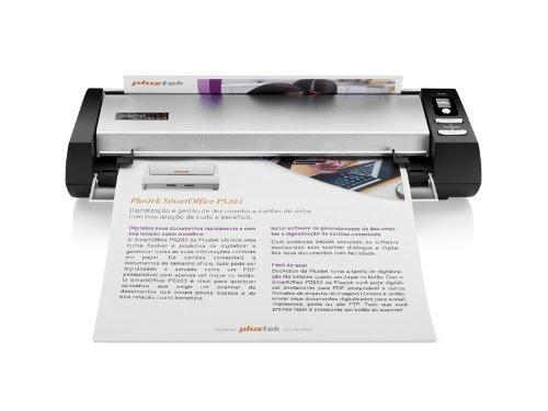 Plustek Mobileoffice Dokumentenscanner (600x600 DPI, USB 2.0)