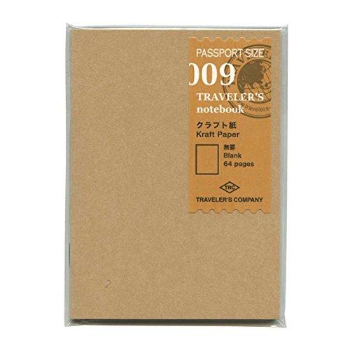 トラベラーズノートパスポートサイズリフィル【クラフト紙】14373006