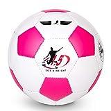 TianCheng Ballon de football pour enfant - En TPU souple et léger - Taille 1,5 - Violet