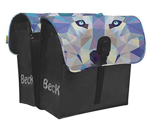Willex Beck small Wolf Doppelpacktasche für Gepäckträger Fahrrad
