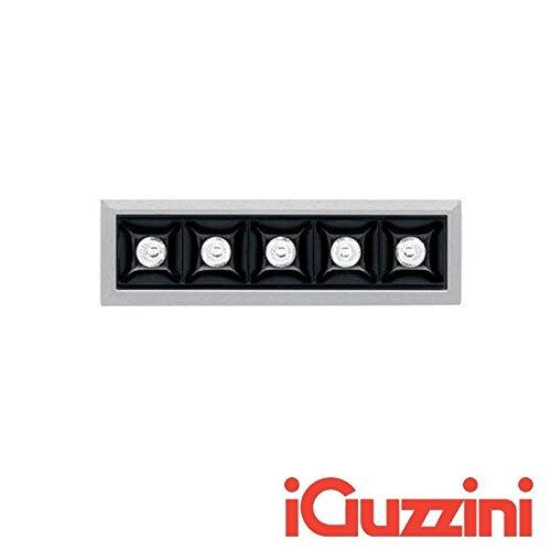 iGuzzini MK49 Laser Blade Eingebaut LED 10W 4000K 920 lm Grau Schwarz