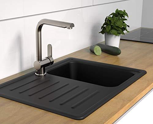 SCHÜTTE 79826 RIO Küchenarmatur, Edelsthaloptik