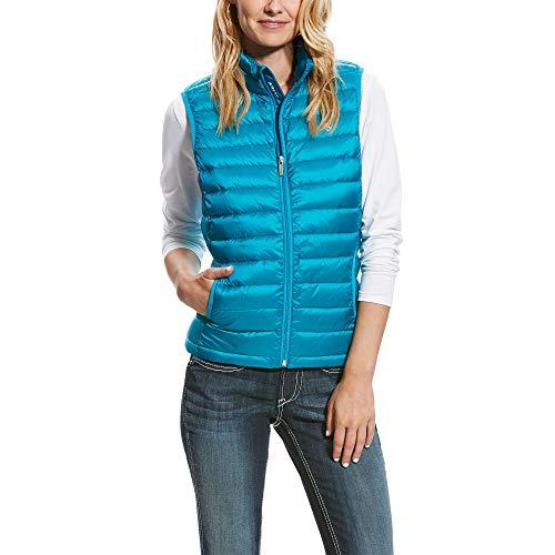 ARIAT Damen Hunter Vest Top, Blau-Atomic Blue, X-Klein