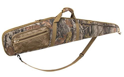 RAVOINCC Rifle Shotgun Case for Scoped Rifles Soft Padded Gun Carry Bag with Zipper Pocket Adjustable Shoulder Strap Available Length in 52 Inch Camouflage