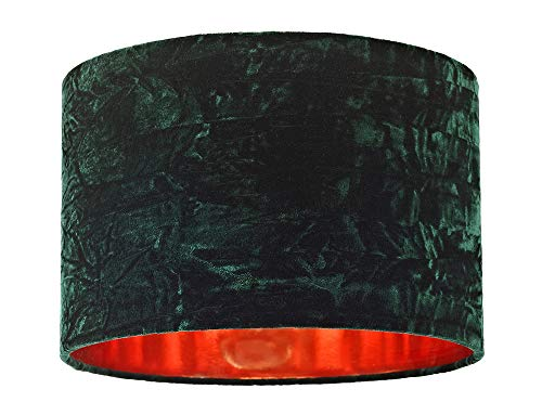 Contemporary and Chic Forest Green Soft Crushed Velvet 12