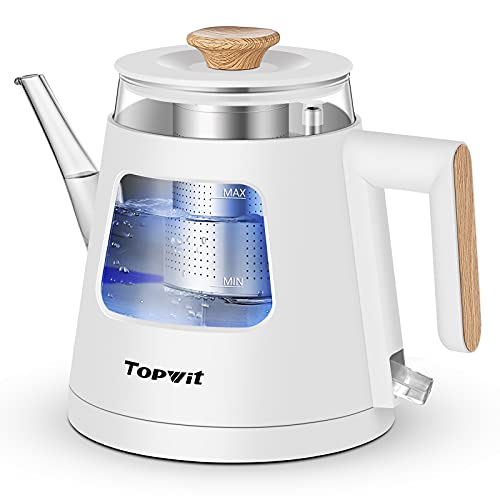 Topwit Electric Kettle, 1.0L Electric Tea Kettle with Removable...