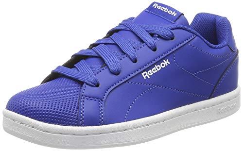 Reebok Complete CLN, Zapatillas de Tenis Niño, Azul (Collegiate Royal/White 000), 34.5 EU