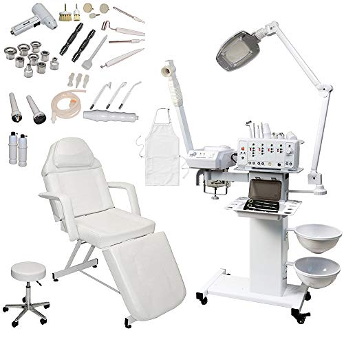11 in 1 Multifunction Diamond Microdermabrasion Beauty Facial Machine (Stationary Bed)