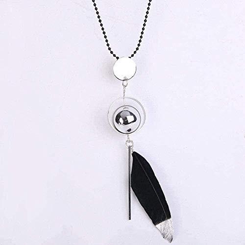 NC110 Collar Collar Europeo y Americano Collar Rose Girl Heart Love Key Colgante Micro- Set Zircon Multicolor Choice Accesorios de Moda Plata para Mujeres Hombres Regalo