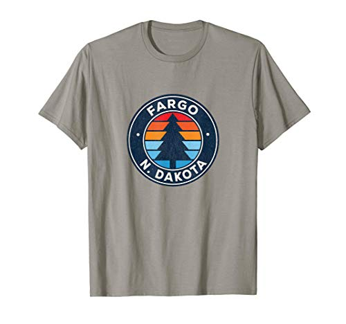 Fargo North Dakota ND Vintage Graphic Retro 70s T-Shirt