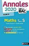 Annales ABC du BAC 2020 Maths Term S - non corrigé