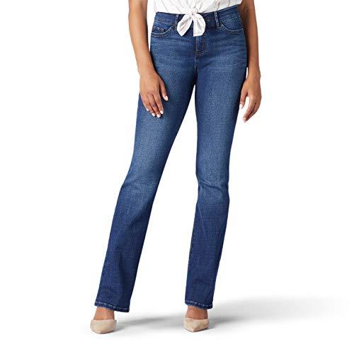 Lee Women's Flex Motion Regular Fit Bootcut Jean, Cascade, 18