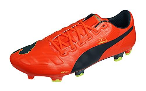 PUMA Evopower 1 FG Men's Soccer Cleats-Orange-9
