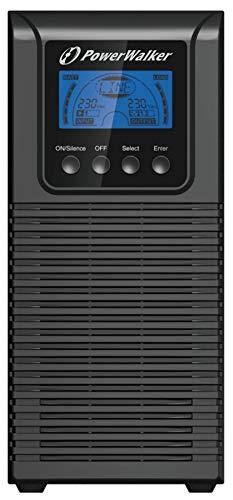 POWERWALKER VFI 1000 TGS 1000VA / 900W Online USV Tower Doppelwandler SNMP Slot HID OHNE AKKUS