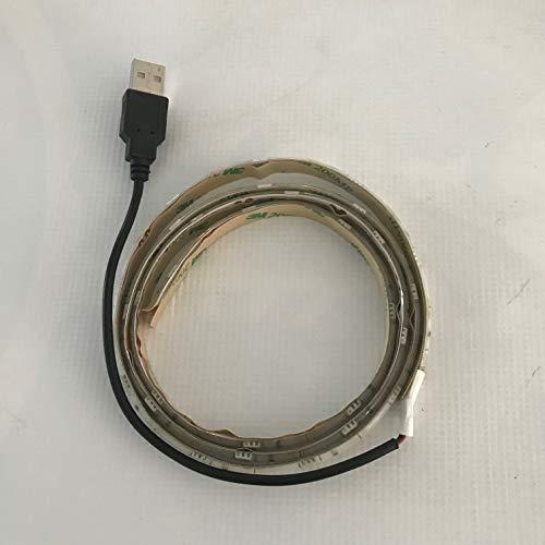 Leds Online-LED blanco USB LED Tiras TV Plasma LCD Iluminación Trasera Ambiente Home Theatre Ideal Estado de ánimo