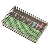 Brocas para uñas de efecto perfecto, juego de brocas para uñas, salón de belleza, tienda, tienda de manicura para el hogar(Grinding head set BH-05)