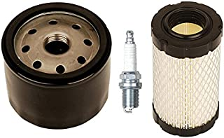 OxoxO 492056 oliefilter met 796031 591334 594201 luchtfilter voor Briggs & Stratton 31A507 31A607 31A677 31A707 31A807 31C...
