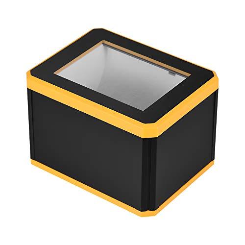 Aibecy Escáner de Código de Barras Omnidireccional Platform 1D / 2D / QR Barcode Scanner Reader Presentación con Interfaz USB