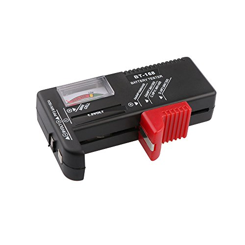 TiooDre Universale BT-168 Battery Tester AA/AAA/C/D / 9V / 1.5V delle cellule del tasto della batteria tester di tensione