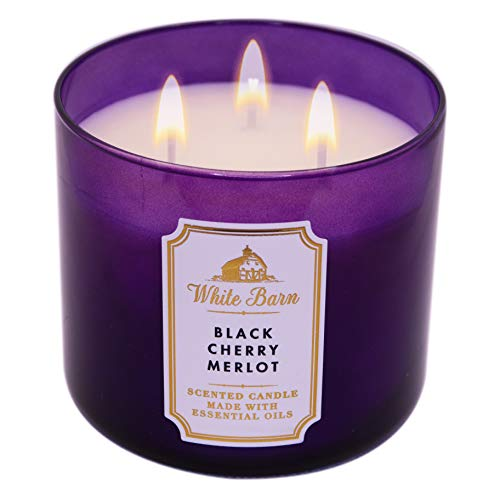 Bath and Body Works Black Cherry Merlot Scented Candle