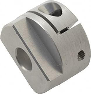 Lovejoy 58116 Size MOL32 Oldham Coupling Hub, Aluminum, Metric, 11 mm Bore, 32 mm OD, 33 mm Overall Coupling Length 4.497 Nm Nominal Torque, No Keyway