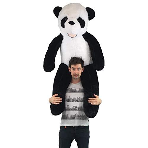 Bananair Peluche Géante Panda 130cm, Doudou Ultra Moelleux, Parfait pour Anniversaire, Noël, Jouet