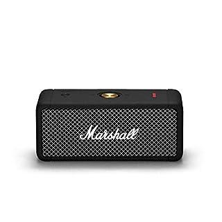 Marshall Emberton Portable Bluetooth Speaker - Black (B08B951D35) | Amazon price tracker / tracking, Amazon price history charts, Amazon price watches, Amazon price drop alerts