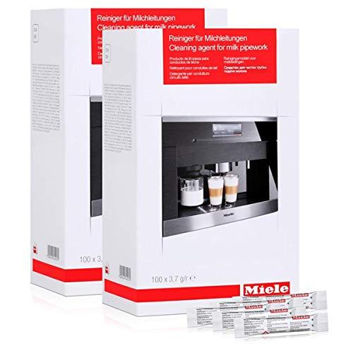 Miele 10180270 Reiniger für Milchleitungen/Milchsystem 100x3,7g (2er Pack)