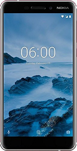 Nokia 6.1 (2018) (3GB + 32GB, White-Iron)