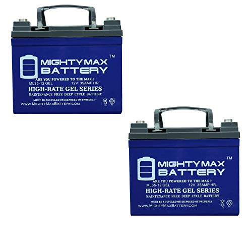 Gel mobility scooter batteries