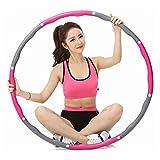 N / E Gewichtete Hula-Hoops für Erwachsene, Hula-Hoop-Reifen mit 8 Abschnitten, abnehmbares Design,...
