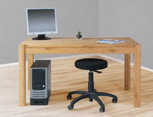 Möbeldesign Team 2000 Schreibtisch Computertisch Esstisch in Wildeiche/Eiche geölt 4512-1