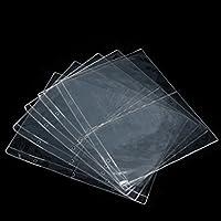 PRAMYアルバムページ2ポケット紙幣紙幣通貨ホルダー収納コレクション1枚、2行15ルーズリーフ、トランスペアエント