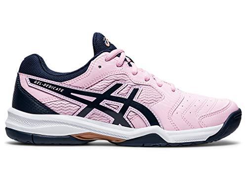 ASICS Women#039s GelDedicate 6 Tennis Shoes 9M Cotton Candy/Peacoat