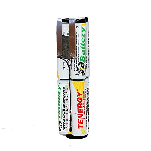 Replacement Battery Internals for Snap-On 7.2V Model CTB5172, CTB5172B with 1000mAh NiCd Cells