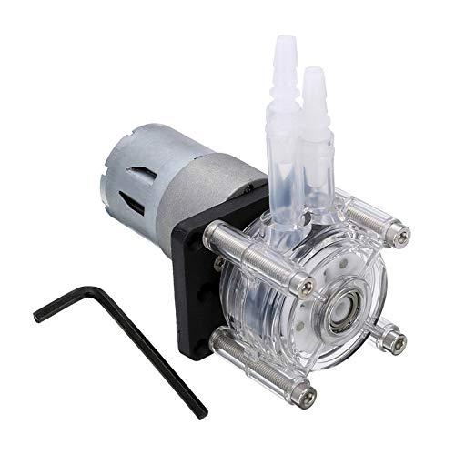 BianchiPamela DC 12/24V Peristaltic Pump Large Flow Dosing Pump Anti-corrosion Vacuum Pump