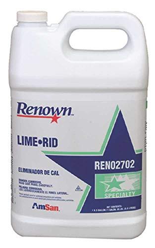 Renown Lime-Rid Non-Foaming Descaler, Gallon-880987