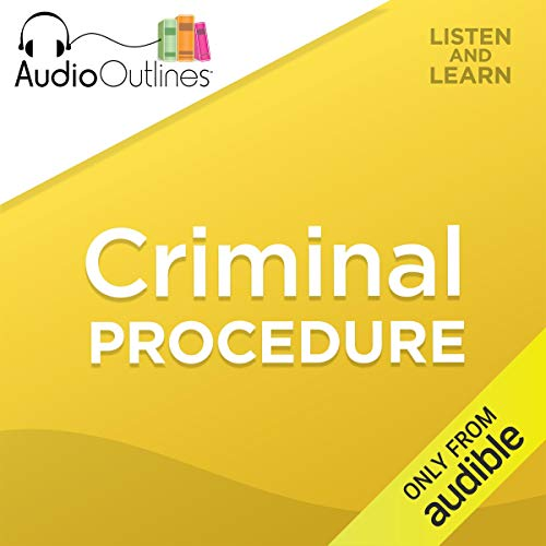 Criminal Procedure audiobook cover art