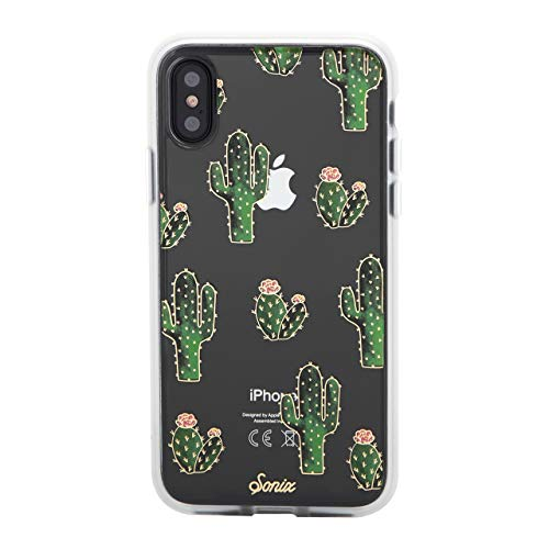 Sonix Prickly Pear Case for iPhone X/Xs [Drop Test Certified] Protective Clear Cactus Case Series for Apple iPhone X, iPhone Xs