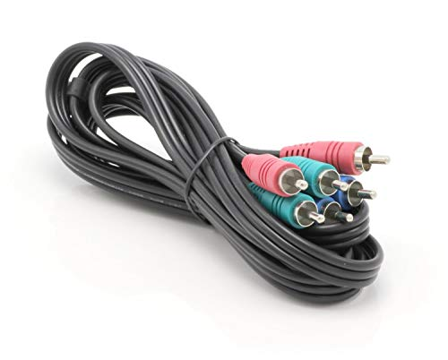 THE CIMPLE CO 6 ft RGB Component Video Cable - (Red-Green-Blue) Component Cable - DIRECTV, Dish Network Comcast - 1 Pack