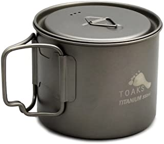 toaks light titanium 550ml pot ultralight version