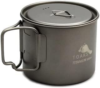 TOAKS Light Titanium 550ml Pot (Ultralight Version)