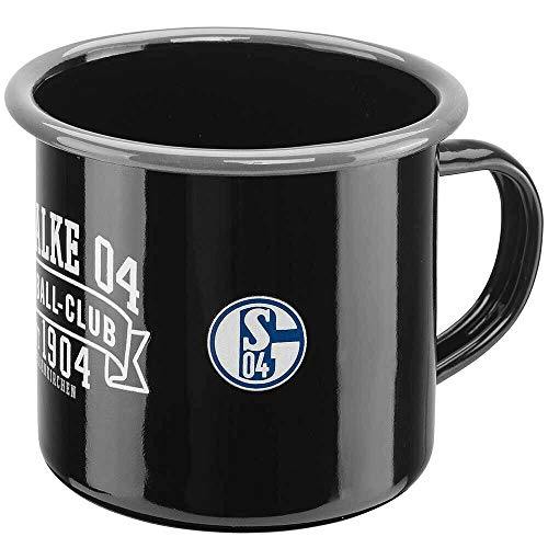 FC Schalke 04 S04 Tasse, Becher, Kaffeetasse EMAILLE, 11259